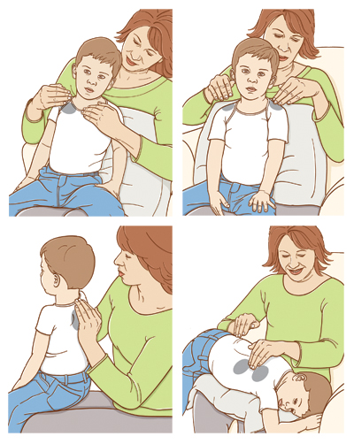 postural-drainage-in-child